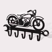 Вешалка-ключница Мотоцикл