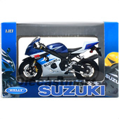 Модель мотоцикла Suzuki GSXR750 Welly 1:18