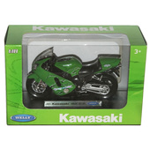 Модель мотоцикла Kawasaki Ninja ZX-12R Welly 1:18