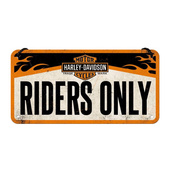 Табличка H-D Riders Only (20x10)