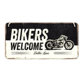 Табличка Bikers Welcome (20x10)